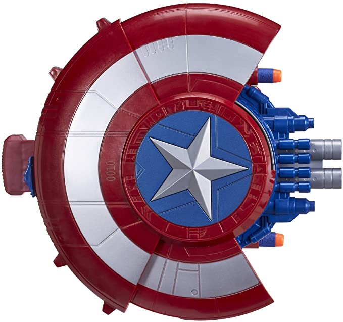 Marvel Captain America Blaster Reveal
