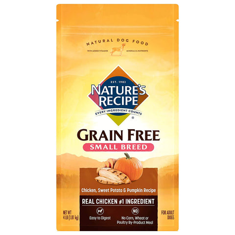 NatureS Recipe Grain Small 4 Pound