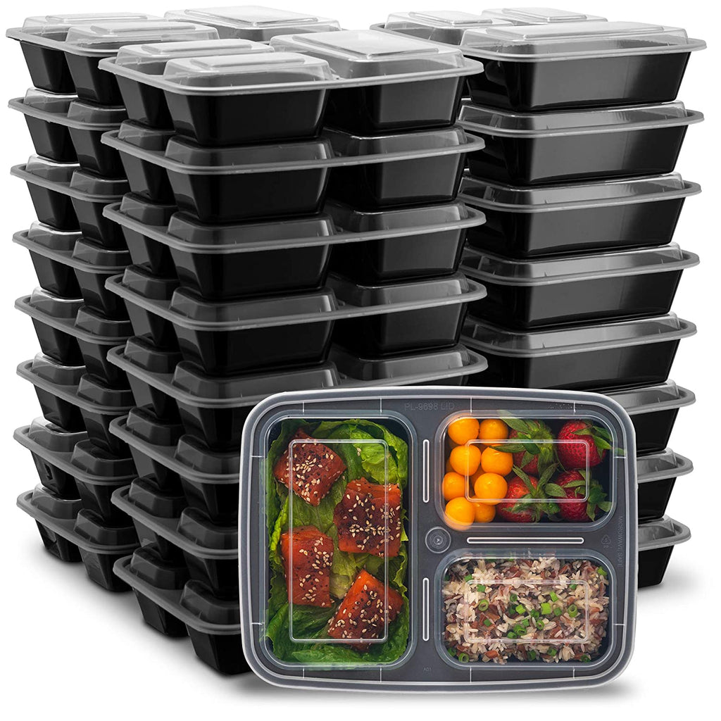 Ez Prepa Pack Compartment Containers