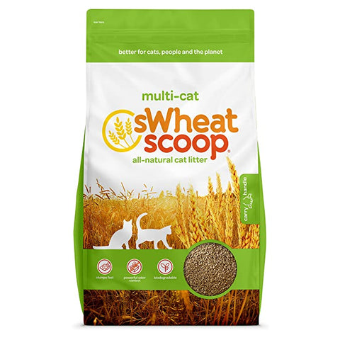 sWheat Scoop Multi Cat All Natural Clumping