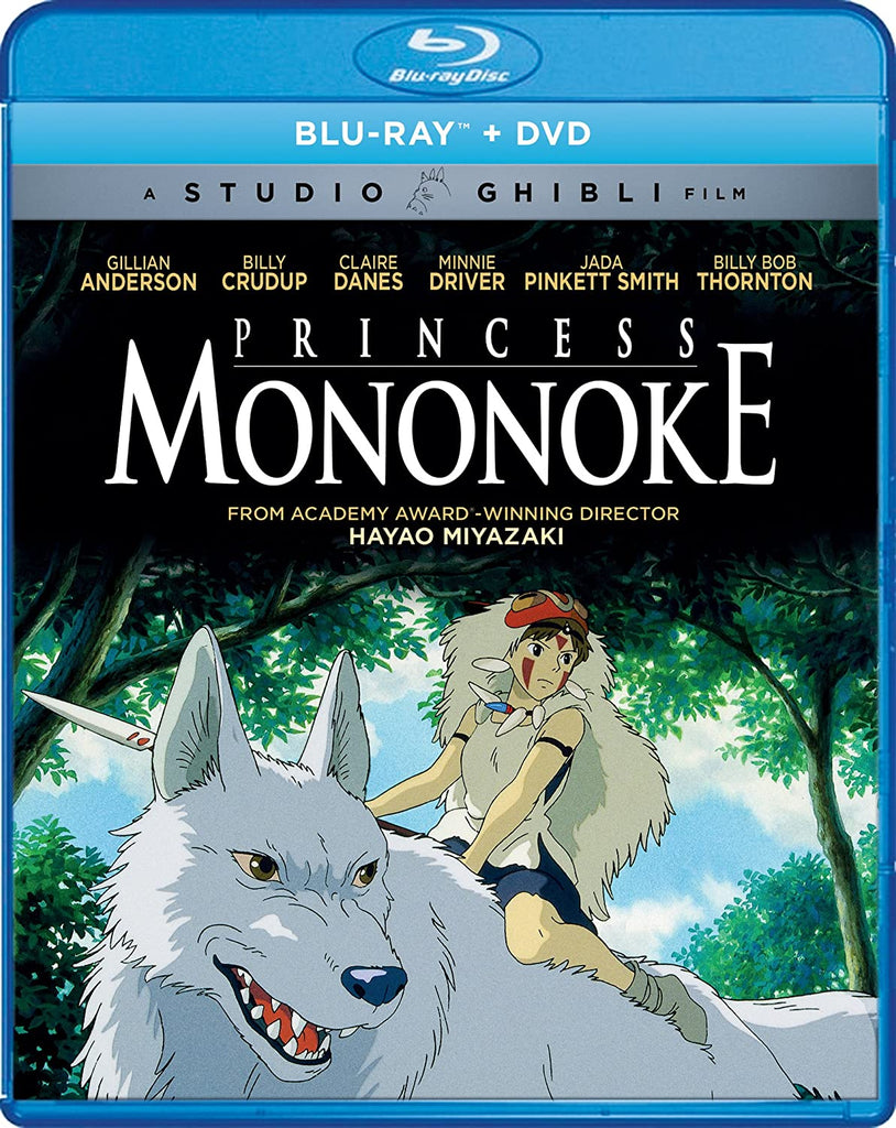 Princess Mononoke Bluray Combo Blu ray