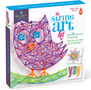 Craft tastic String Craft Makes Canvases