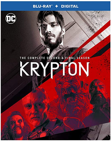 Krypton Complete Second Blu ray Digital