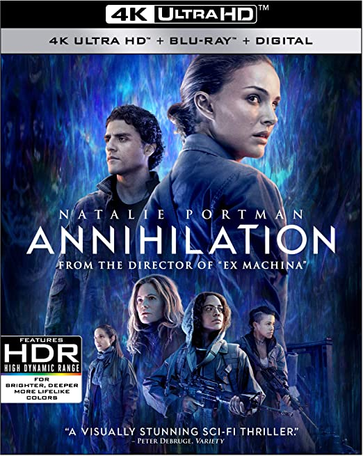 Annihilation Blu ray Jennifer Jason Leigh