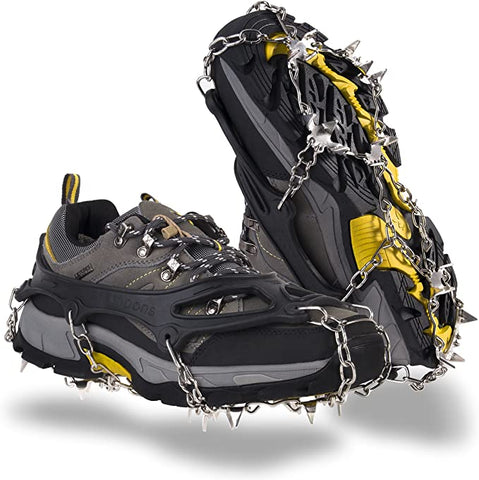 OuterStar Traction Stainless Crampons Footwear