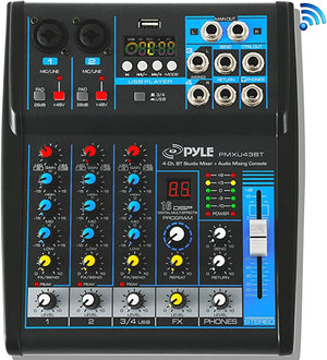 Pyle Professional Interface Bluetooth Streaming