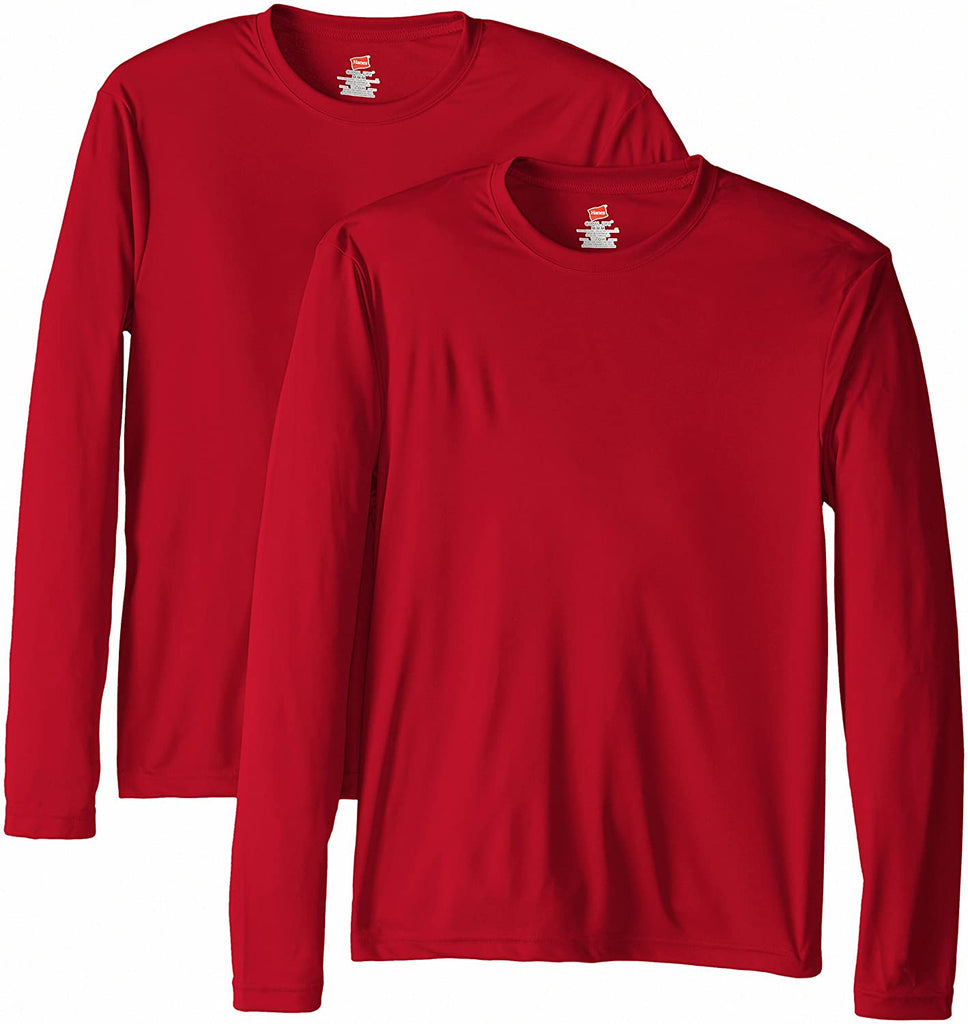 Hanes Mens Long Sleeve T Shirt