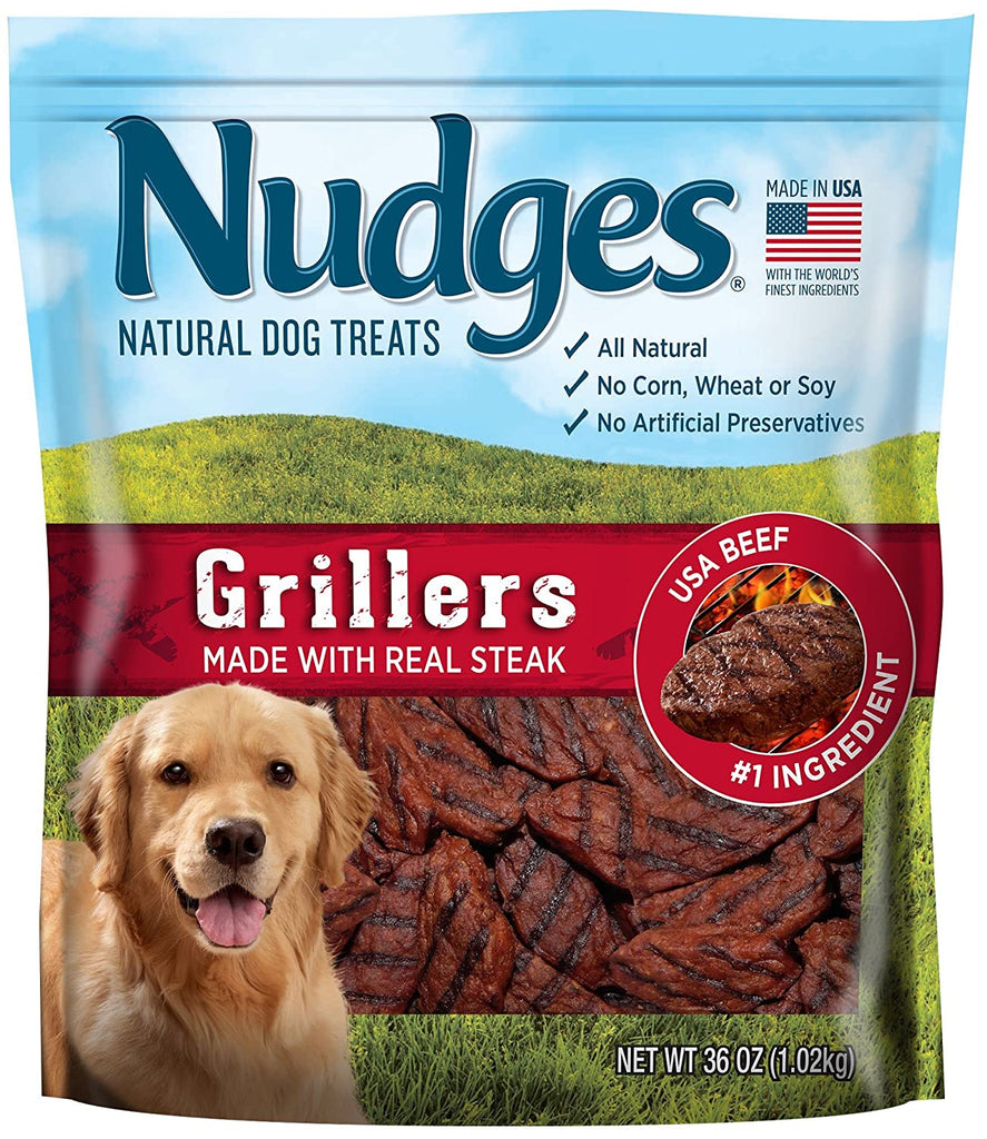Nudges Steak Grillers Dog Treats
