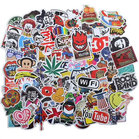 Stickers Waterproof Skateboard MacBook Graffiti