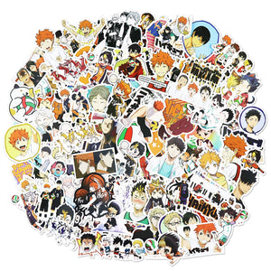 Haikyuu Stickers Skateboard Waterproof Sticker