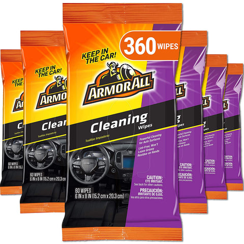 Armor All Microfiber Motorcycle 19266 6PK