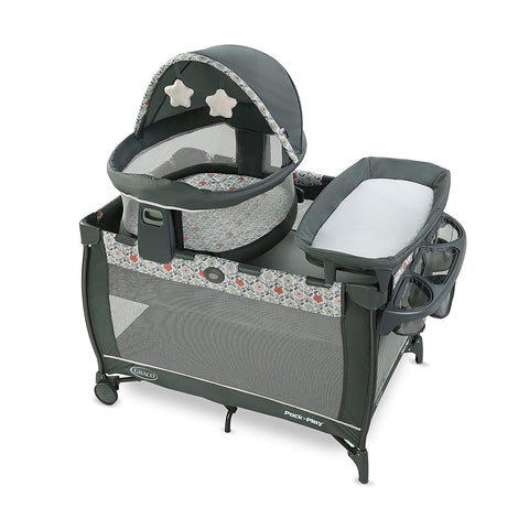 Image of Graco Playard Portable Bassinet Full Size