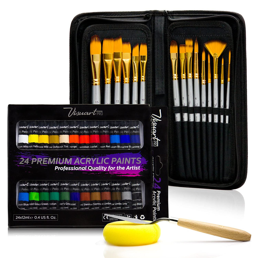 Acrylic Paint Premium Artist Brushes