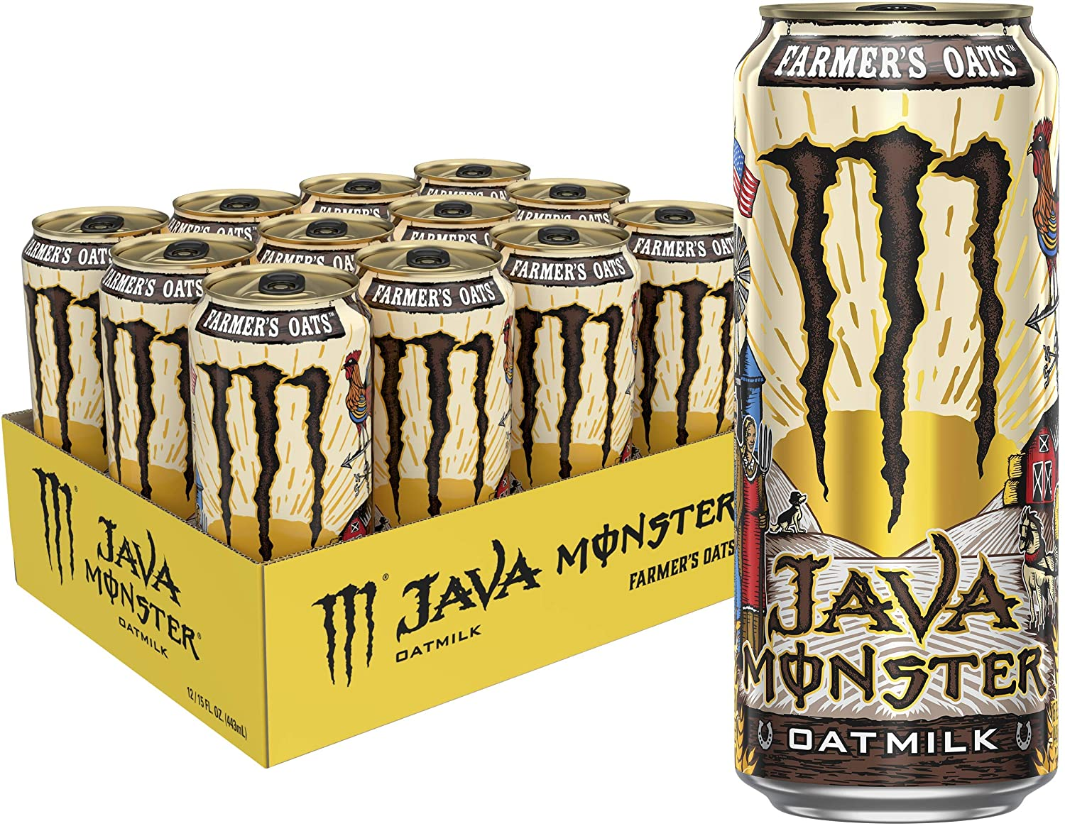 Monster Energy Farmers Oatmilk Coffee