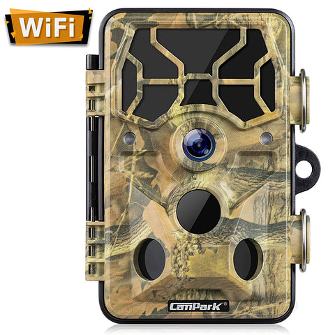 Campark Camera WiFi Activated Monitoring Waterproof