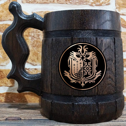 Monster Hunter World Wooden Tankard