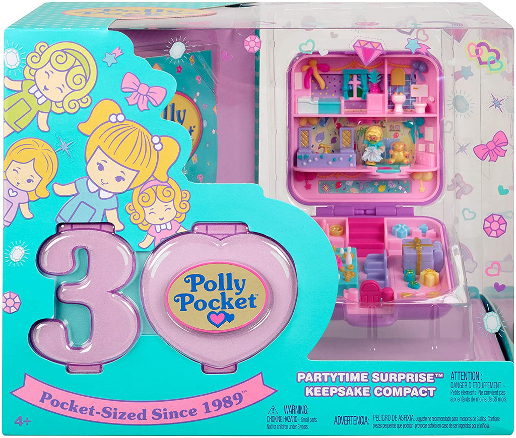 Polly Pocket Partytime Surprise Keepsake