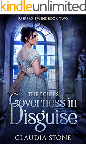 Dukes Governess Disguise Fairfax Twins ebook