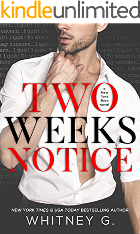Two Weeks Notice Whitney G ebook