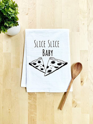Image of Funny Kitchen Cloth Slice Pizza
