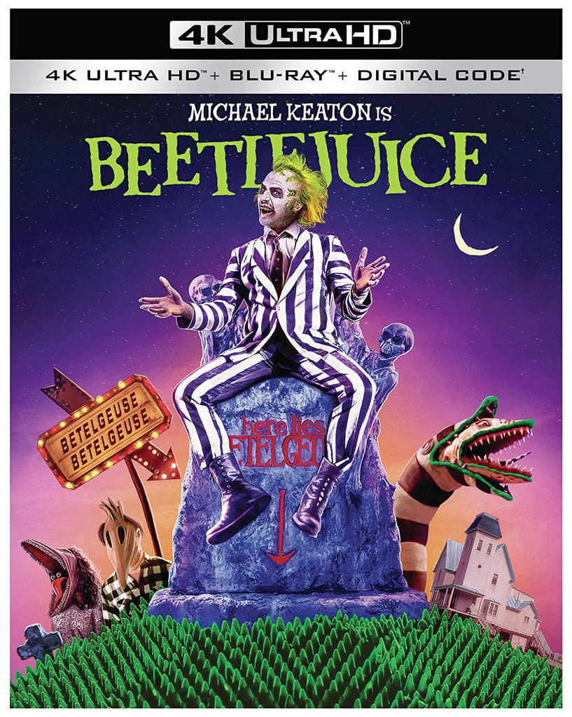 Beetlejuice 4K Ultra Blu ray Digital