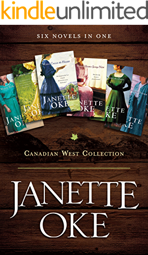 Canadian West Collection Six Novels ebook