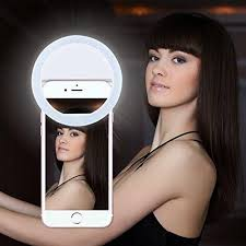 Selfie Ring Light for Phones and Computers.