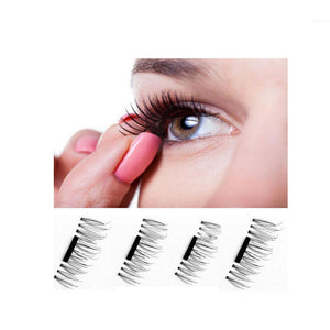 2 Pairs Magnetic 3D Natural Soft Eyelashes