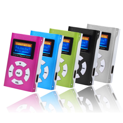Who needs wifi! USB Mini MP3 Player LCD Screen Support 32GB Micro SD TF Card