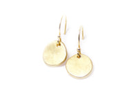 Serendipity Dangle Earrings: 14K Gold