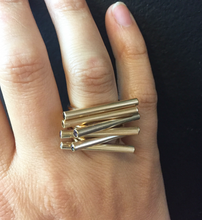 Balance Beam Ring: Sterling Silver