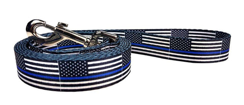 Thin Blue Line Flag Dog Flag Leash