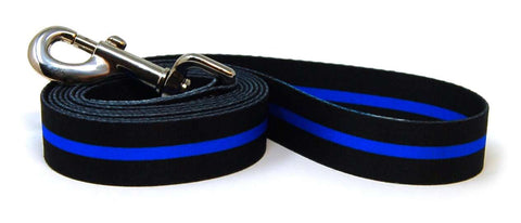 Thin Blue Line Dog Flag Leash