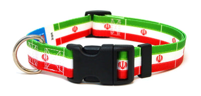 Iran Flag Dog Collar | Cat Collar | Leash