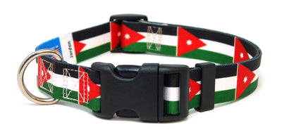 Jordan Flag Dog Collar | Cat Collar | Leash