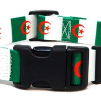 Algerian Flag Dog Collar