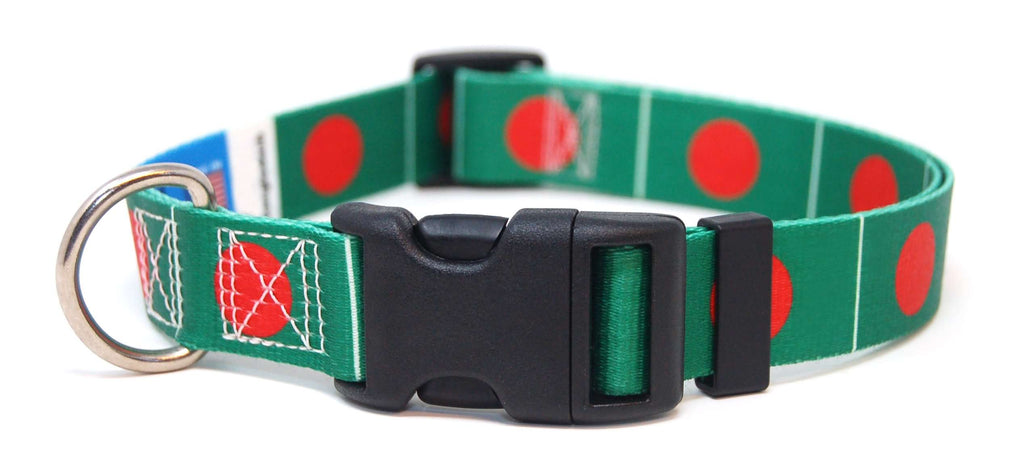 Bangladesh flag dog collar