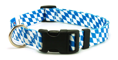Bavaria flag dog collar