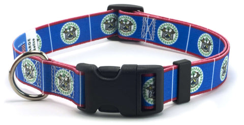 Belize Belizean Flag Dog Collar