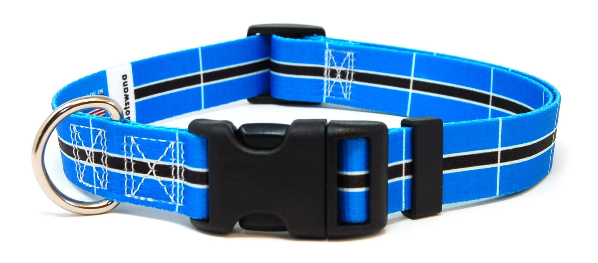Botswana Batswana Flag Dog/Cat Collar