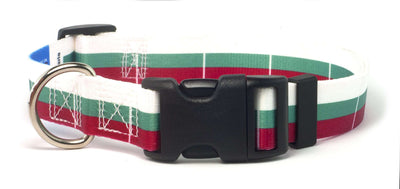 Bulgarian flag dog collar
