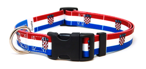 Croatia Croatian Flag Dog/Cat Collar