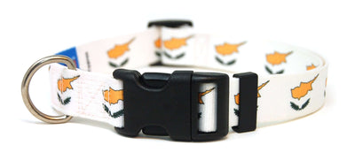 Cyprus Flag Dog Collar | Cat Collar | Leash