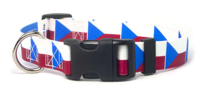 Czech Republic Flag Dog Collar |