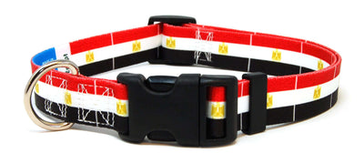 Egypt Flag Dog Collar | Cat Collar | Leash