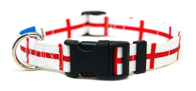 England  Flag Dog Collar | Cat Collar | Leash