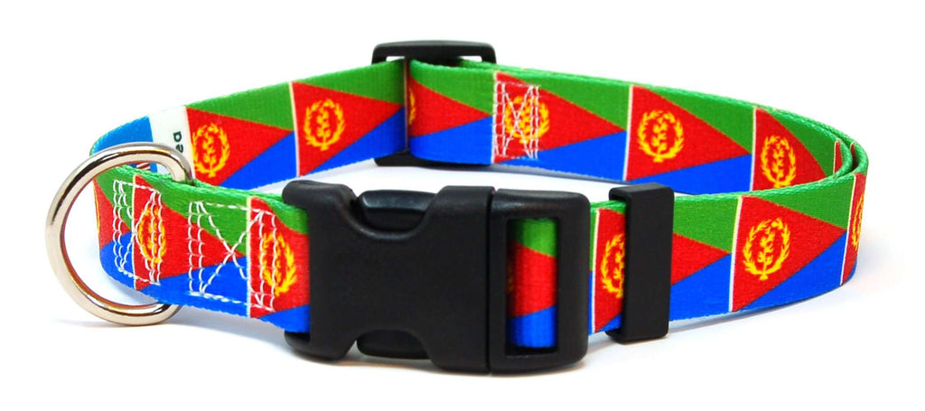 Eritrea Flag Dog Collar
