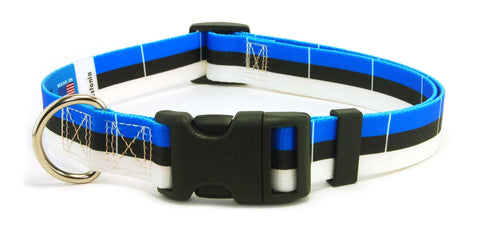 Estonia Estonian Flag Dog Collar