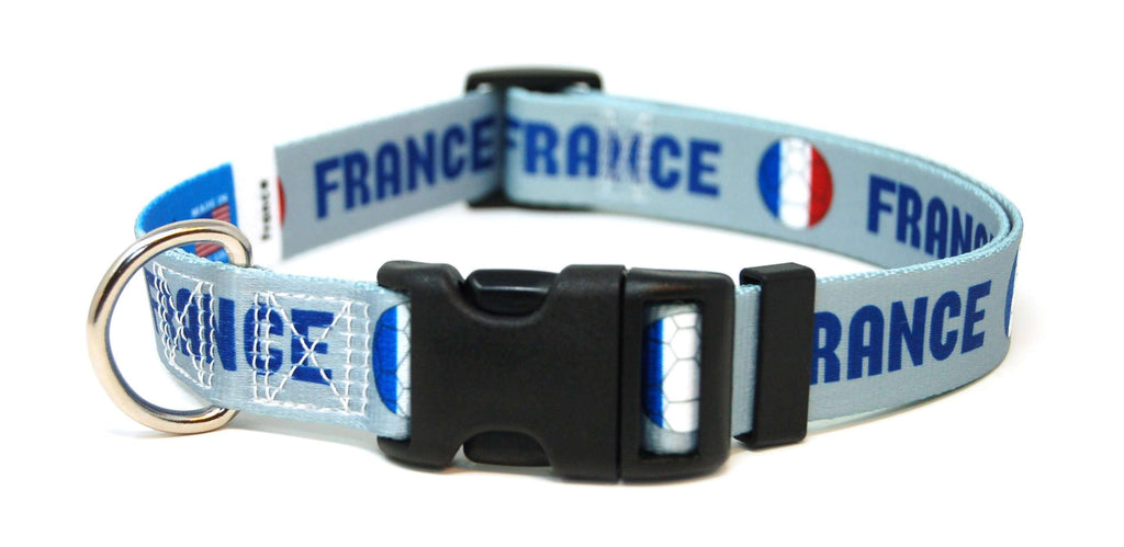 France Soccer Flag Cat Collar