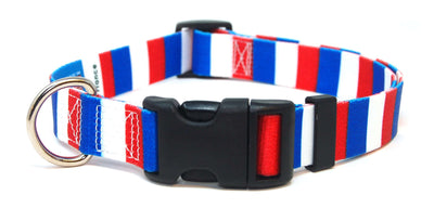 France Flag Dog Collar | Cat Collar | Leash